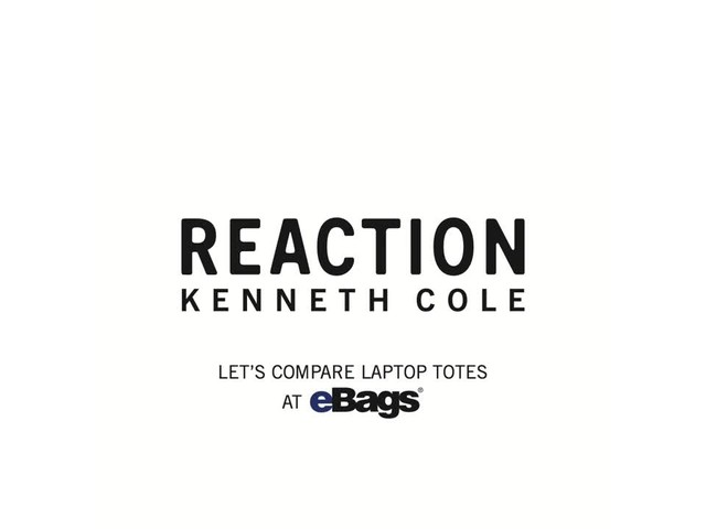 Kenneth Cole Reaction Let's Compare Laptop Totes - image 1 from the video