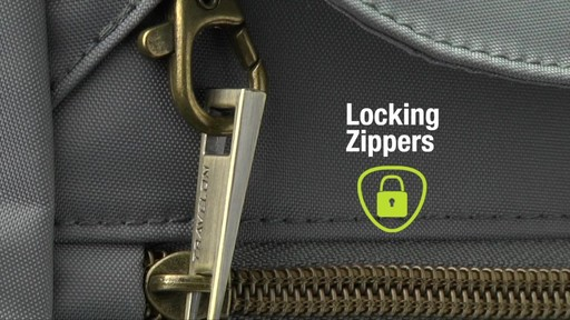 Travelon Anti-Theft Signature Slim Backpack - Shop eBags.com - image 4 from the video