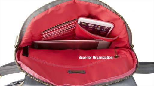 Travelon Anti-Theft Signature Slim Backpack - Shop eBags.com - image 7 from the video