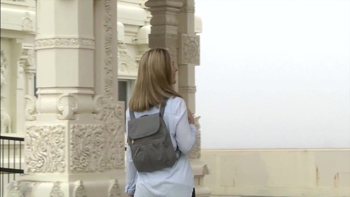 Travelon Anti-Theft Signature Slim Backpack - Shop eBags.com - image 9 from the video