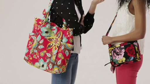 Vera Bradley Hadley Tote - image 1 from the video