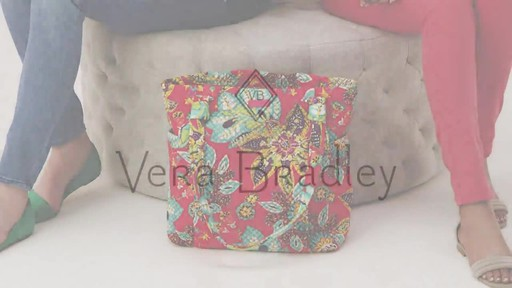 Vera Bradley Hadley Tote - image 10 from the video