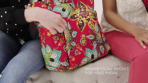 Vera Bradley Hadley Tote - image 4 from the video