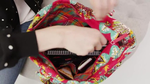Vera Bradley Hadley Tote - image 8 from the video
