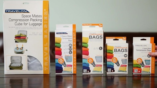 Travelon Space Mates Compression Bags - image 10 from the video