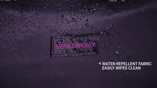 Vera Bradley Large Foldable Roller Luggage - image 3 from the video