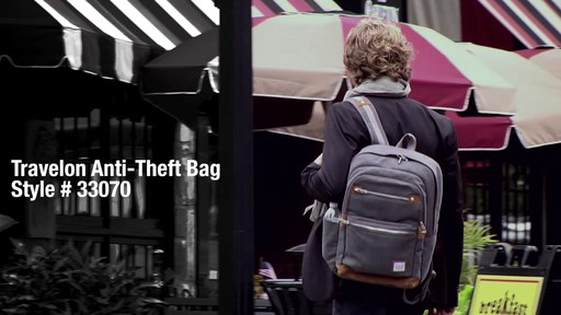 Travelon Anti-Theft Heritage Backpack - image 1 from the video