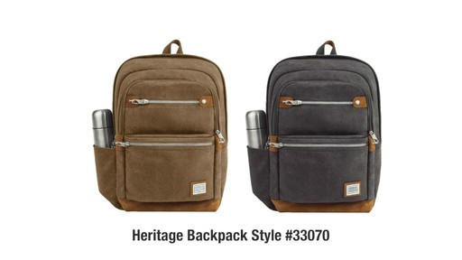 Travelon Anti-Theft Heritage Backpack - image 10 from the video