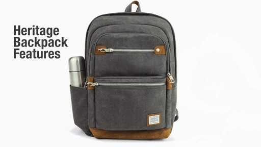Travelon Anti-Theft Heritage Backpack - image 2 from the video