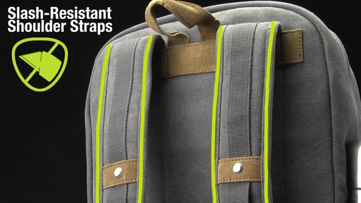 Travelon Anti-Theft Heritage Backpack - image 4 from the video