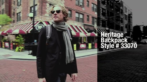 Travelon Anti-Theft Heritage Backpack - image 9 from the video