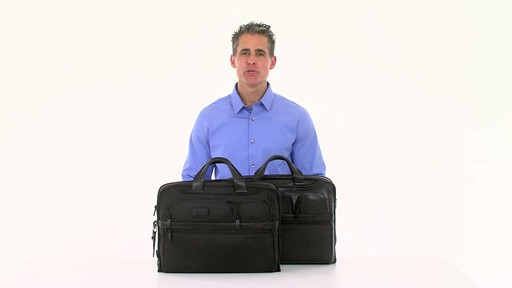 Tumi Alpha 2 Compact Large Screen Laptop Brief - eBags.com - image 1 from the video