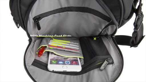 Travelon Anti-Theft Urban Tour Bag - Shop eBags.com - image 7 from the video