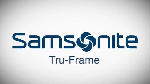 The Samsonite Tru-Frame Spinner - on eBags.com - image 1 from the video