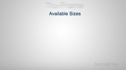 The Samsonite Tru-Frame Spinner - on eBags.com - image 7 from the video