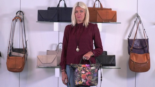 Elliott Lucca Artisan Brigitte Satchel - image 3 from the video