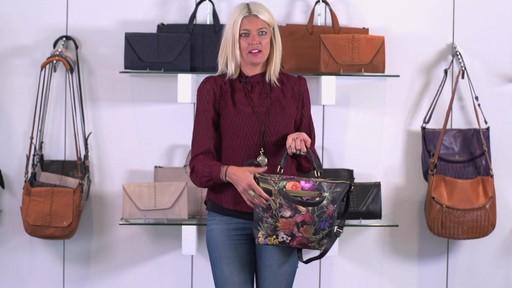 Elliott Lucca Artisan Brigitte Satchel - image 6 from the video