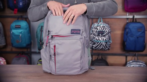 JanSport - Broadband Laptop Backpack - image 10 from the video
