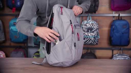 JanSport - Broadband Laptop Backpack - image 4 from the video