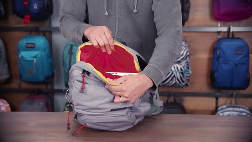 JanSport - Broadband Laptop Backpack - image 5 from the video