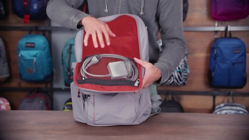 JanSport - Broadband Laptop Backpack - image 6 from the video