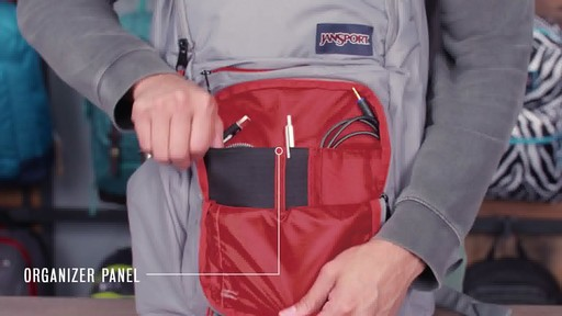 JanSport - Broadband Laptop Backpack - image 7 from the video