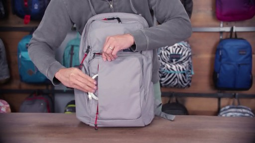 JanSport - Broadband Laptop Backpack - image 8 from the video