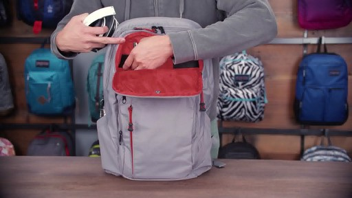 JanSport - Broadband Laptop Backpack - image 9 from the video