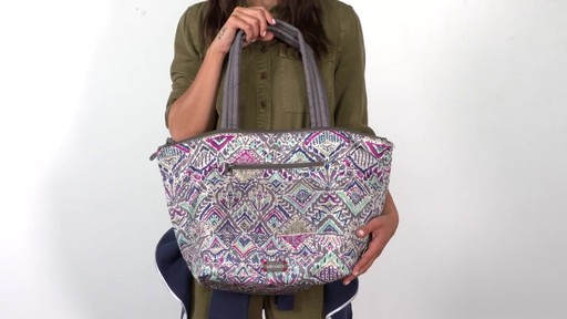 8351843976 Saktoots Kota Reversible City Tote - image 5 from the video