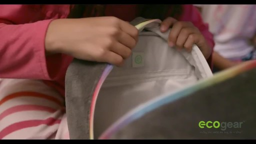 ecogear Brite Buddies Plush Backpack with LED Flashing Lights - image 3 from the video