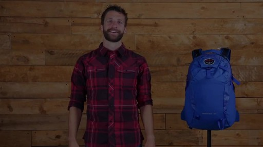 Osprey Skarab and Skimmer Hiking Backpacks - image 1 from the video
