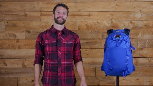 Osprey Skarab and Skimmer Hiking Backpacks - image 10 from the video