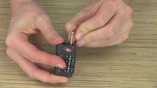 Eagle Creek WordLock TSA Lock - image 6 from the video