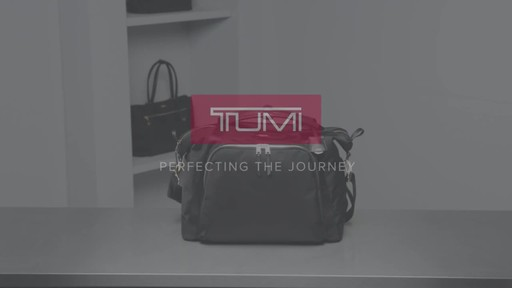 Tumi Voyageur Madrid Duffel - image 10 from the video