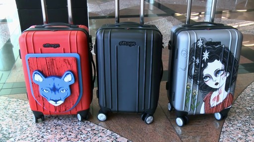 eBags EXO Hardside Spinners at Denver International Airport - image 2 from the video
