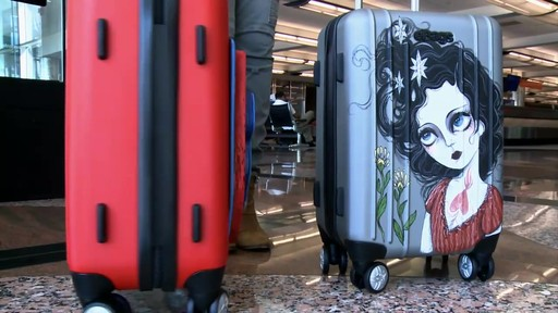 eBags EXO Hardside Spinners at Denver International Airport - image 4 from the video