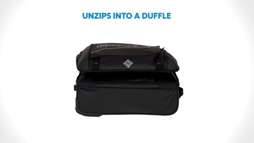 Columbia Luggage Northern Range Zip-Off Duffels - image 1 from the video