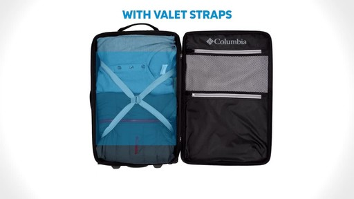 Columbia Luggage Northern Range Zip-Off Duffels - image 5 from the video