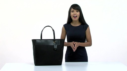 Tumi Larkin Nora Tote - eBags.com - image 8 from the video