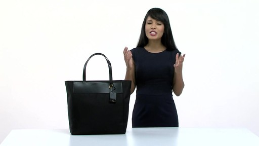 Tumi Larkin Nora Tote - eBags.com - image 9 from the video