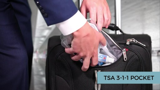 SwissGear Travel Gear 1900 Spinner Carry-On Luggage - eBags Exclusive - image 10 from the video