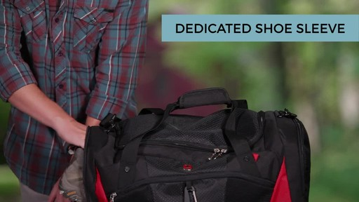 SwissGear Travel Gear 1900 Spinner Carry-On Luggage - eBags Exclusive - image 6 from the video