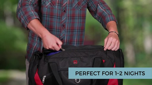 SwissGear Travel Gear 1900 Spinner Carry-On Luggage - eBags Exclusive - image 7 from the video