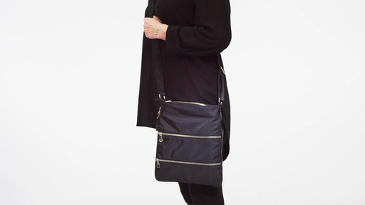 Sacs Collection by Annette Ferber Triple Zip- Expandable Cross Body Bag - eBags.com - image 1 from the video