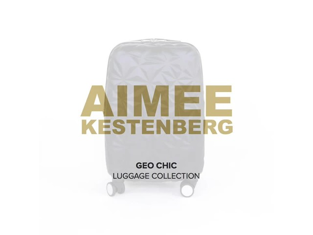 Aimee Kestenberg Geo Chic Luggage Collection - image 1 from the video