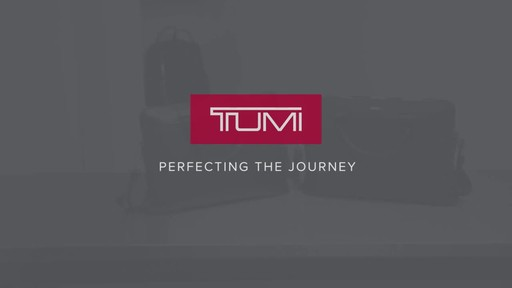 Tumi Voyageur Joanne Leather Laptop Carrier - image 10 from the video