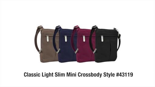 Travelon Anti-Theft Classic Light Slim Mini Crossbody Bag - Shop eBags.com - image 10 from the video