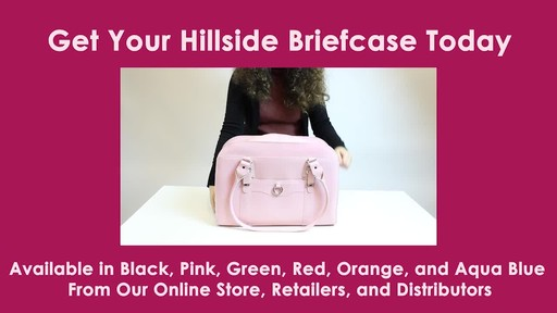 McKlein USA W Series Hillside Laptop Tote - image 10 from the video