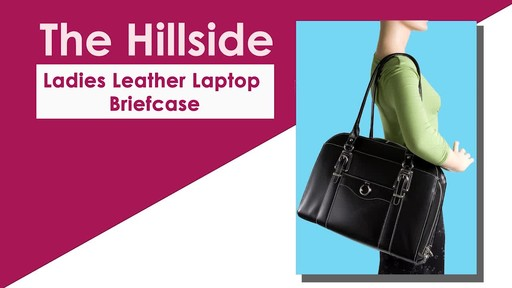 McKlein USA W Series Hillside Laptop Tote - image 2 from the video