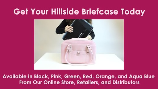 McKlein USA W Series Hillside Laptop Tote - image 9 from the video